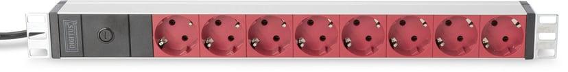 Digitus Professional DN-95410-R Voeding CEE 7/7 8stuks