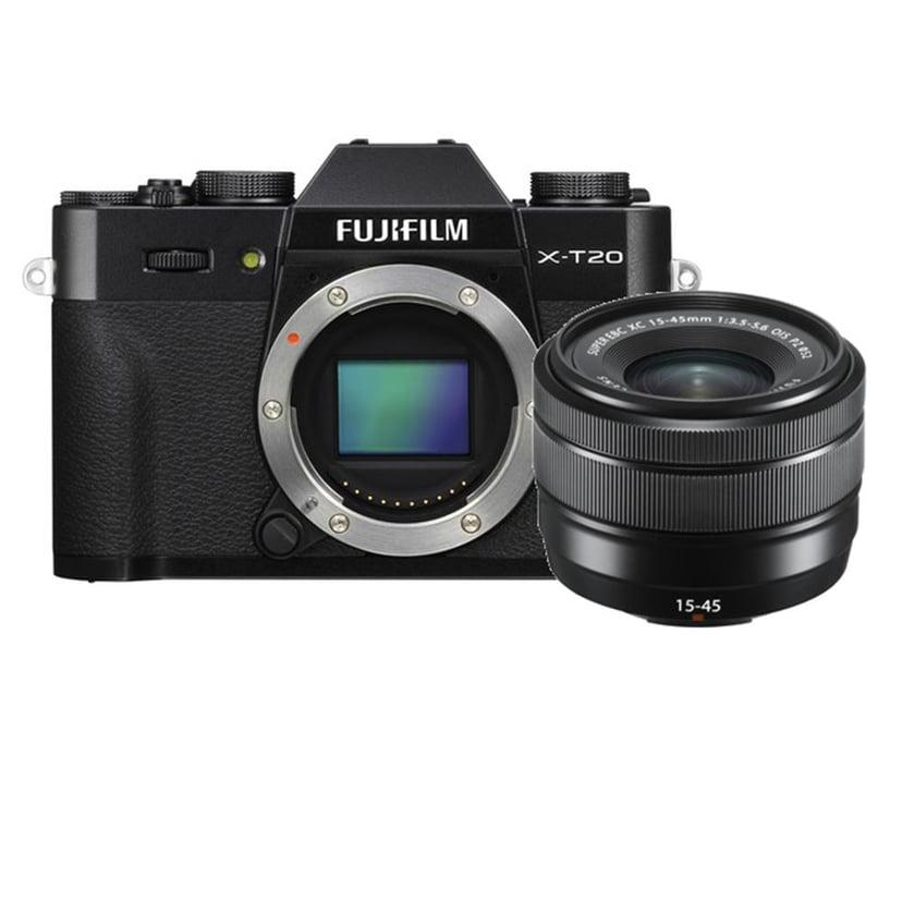 Fujifilm X-T20 + XC 15-45 mm f/3.5-5.6 OIS Svart