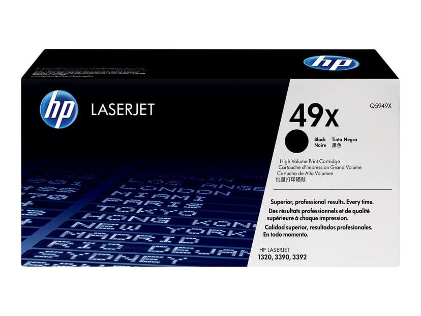 HP Toner Svart 6K - Q5949X