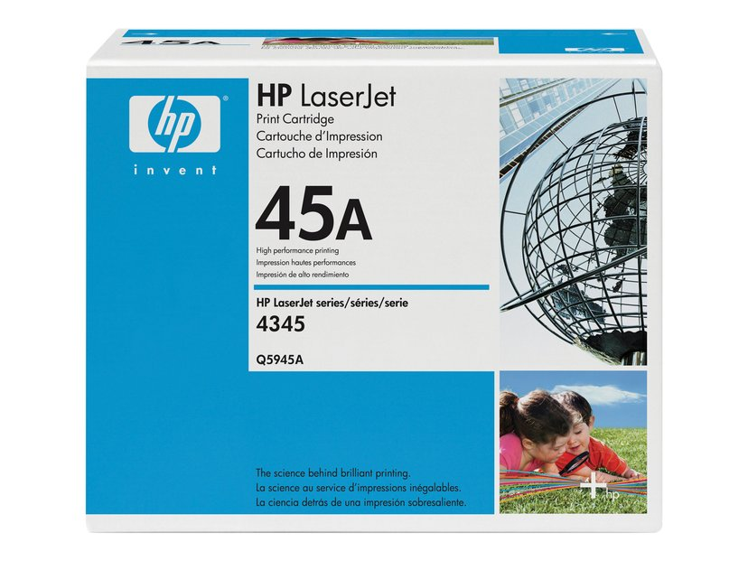 HP Toner Svart - LJ 4345MFP