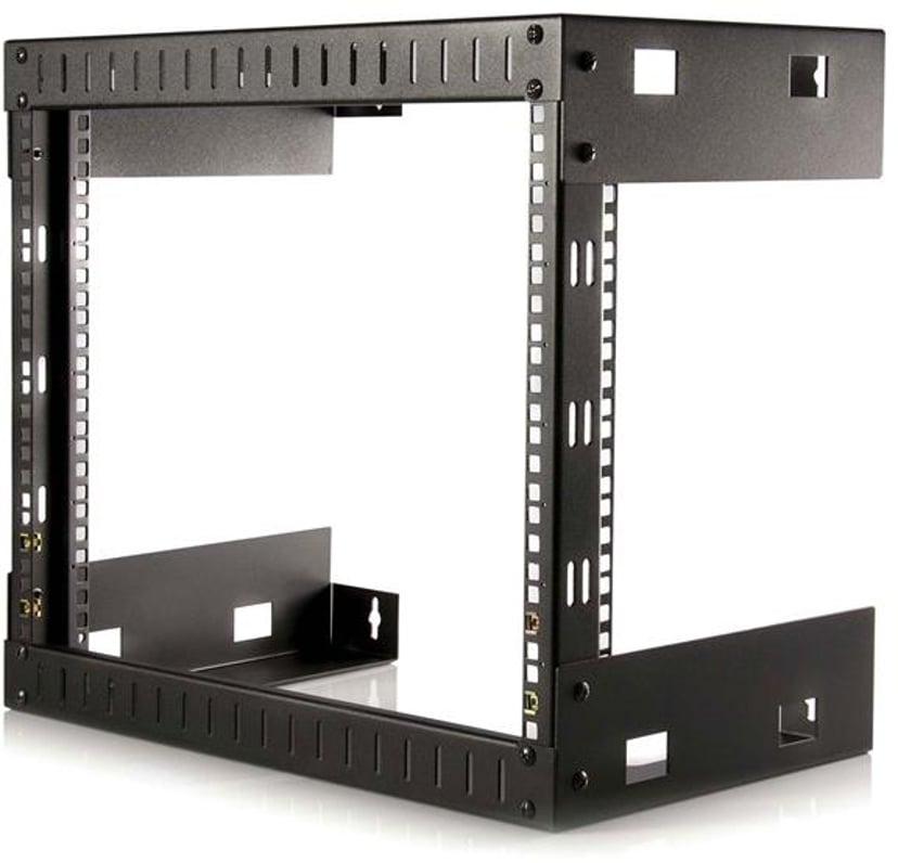 Startech 8U Open Frame Wall Mount Equipment Rack