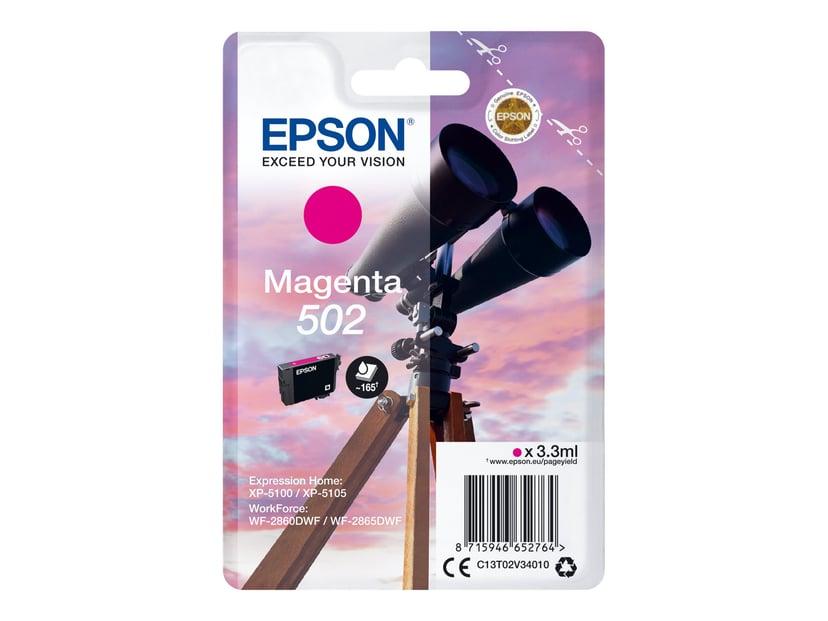 Epson Blekk Magenta 502 - XP-5100/5105/WF-2860/2865