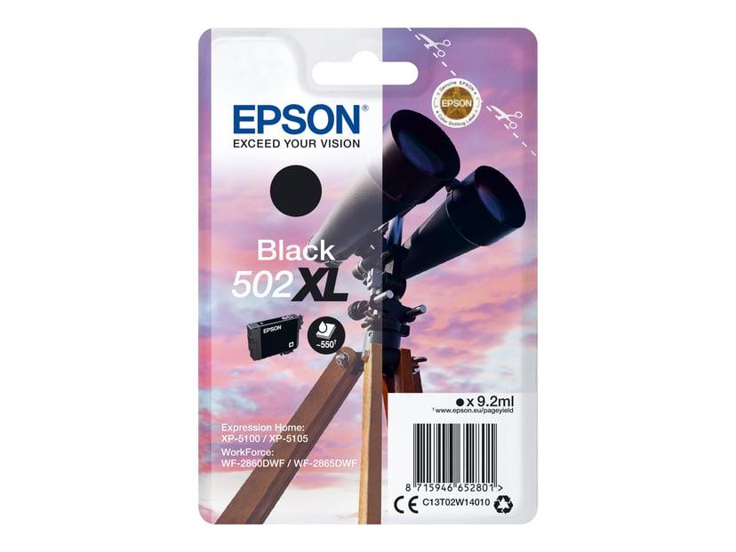 Epson Blekk Svart 502XL - XP-5100/5105/WF-2860/2865