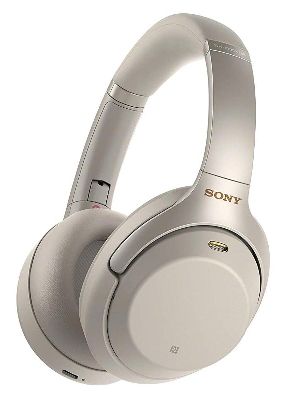 Sony WH-1000XM3 trådløse hodetelefoner med mikrofon Sølv