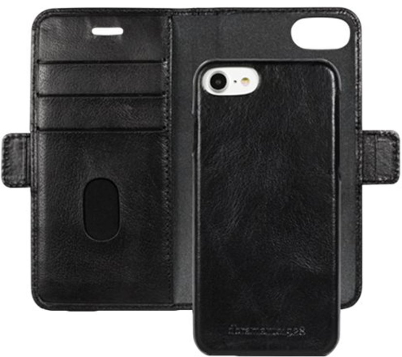 dbramante1928 Lynge Flipfutteral for Mobiltelefon iPhone 6/6s, iPhone 7, iPhone 8, iPhone SE (2020) Svart