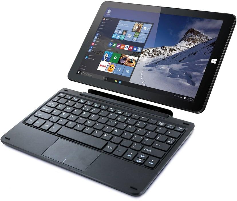 "Lamina Pro T-1026 4G + Tangentbord 10"" Atom x5 64GB 4GB Svart"