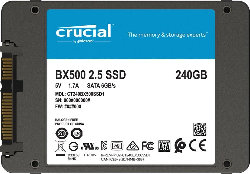"Crucial BX500 240GB Serial ATA-600 2.5"""