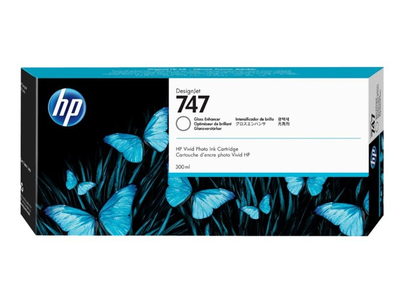 HP Blekk Gloss Enhancer 747 300ml - DJ Z9+