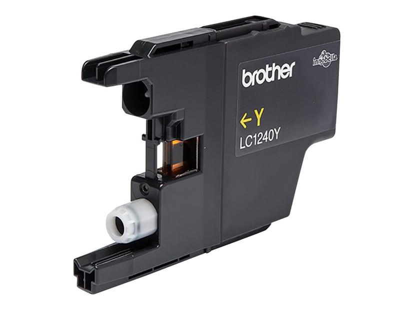 Brother Blæk Gul LC1240Y - MFC-J6510DW