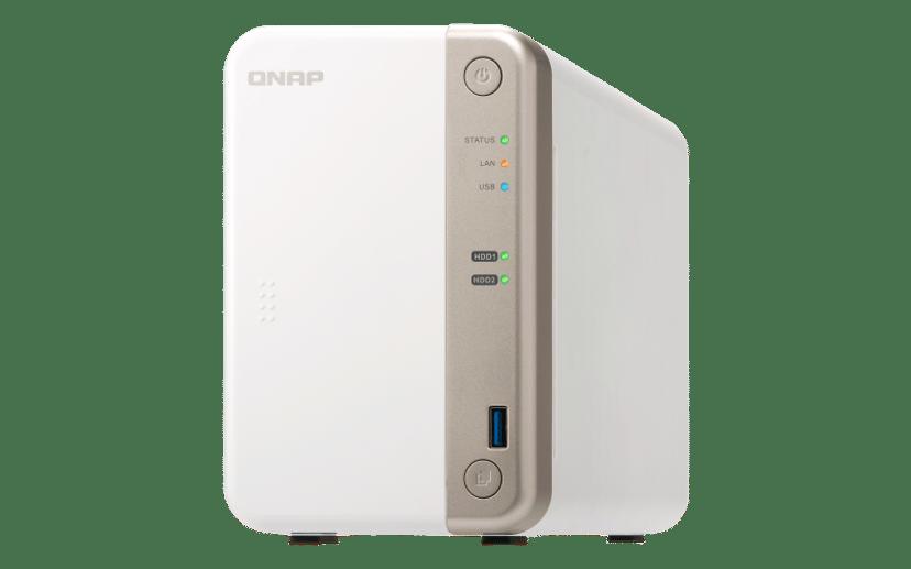 QNAP TS-251B 0TB NAS-server