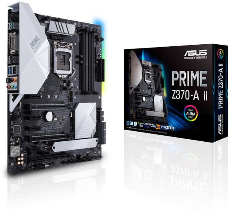 ASUS PRIME Z370-A II ATX Moderkort