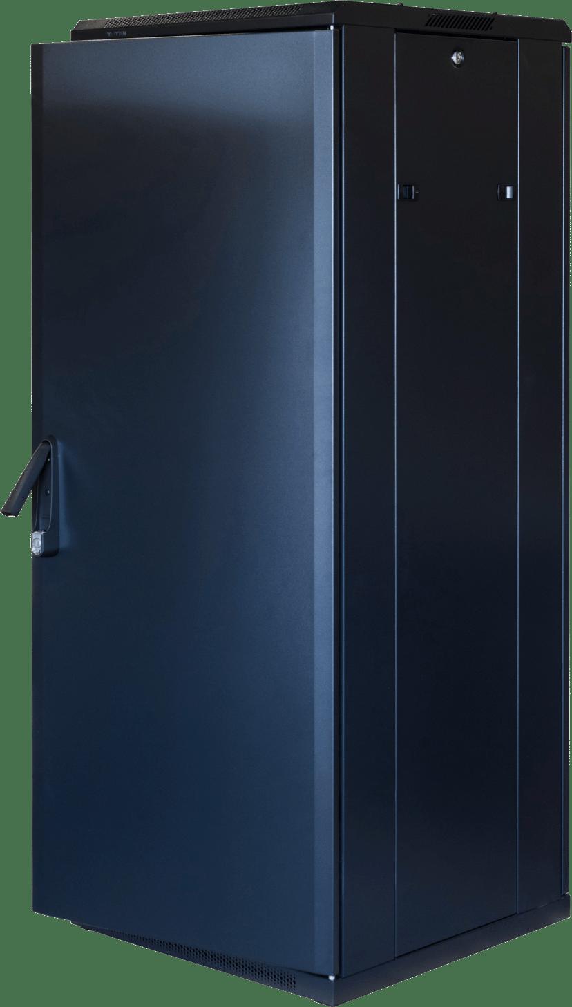 "Toten G6 19"" Rackskåp 32U 600x600 Glas/Metalldörr"