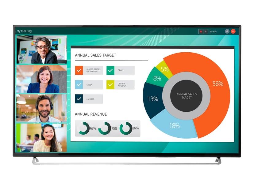 """HP LD5512 Conferencing Display 55"""" 350cd/m² 4K UHD (2160p) 16:9"""