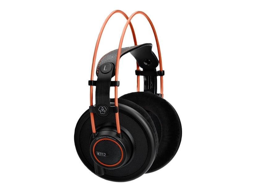 AKG K712 Pro Oransje, Svart