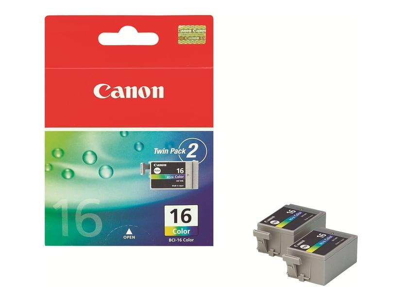 Canon Blekk Farge BCI-16 DS-700/710 2-PACK
