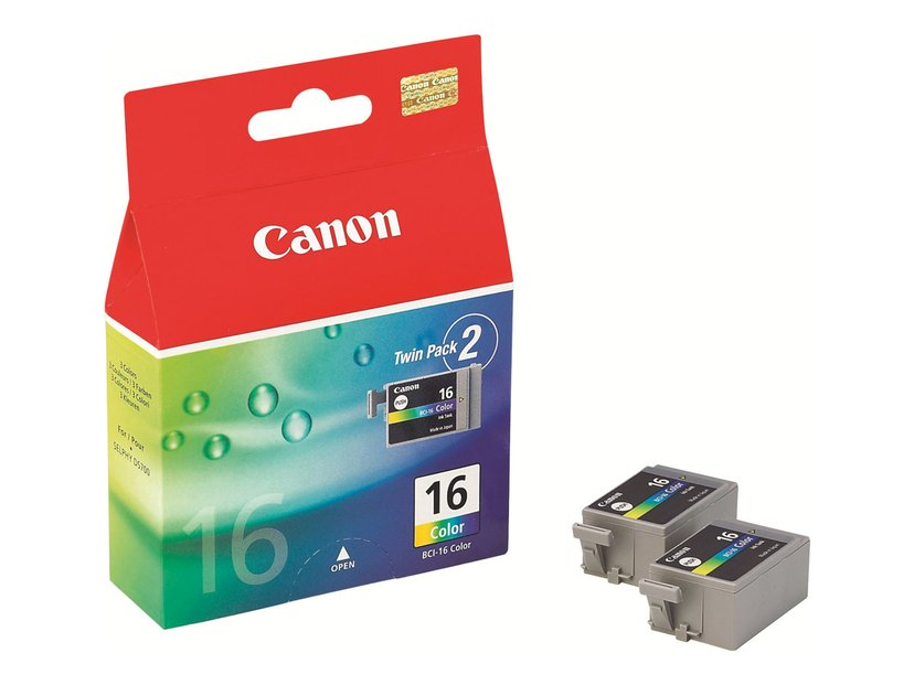 Canon Muste Väri BCI-16 DS-700/710 2-PACK