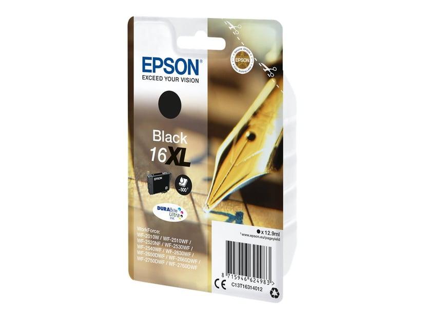 Epson Inkt Zwart XL T1631 - WF-2530WF/WF-2660DWF