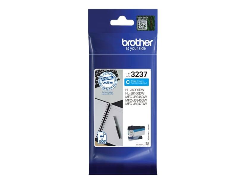 Brother Bläck Cyan LC-3237C 1.5K
