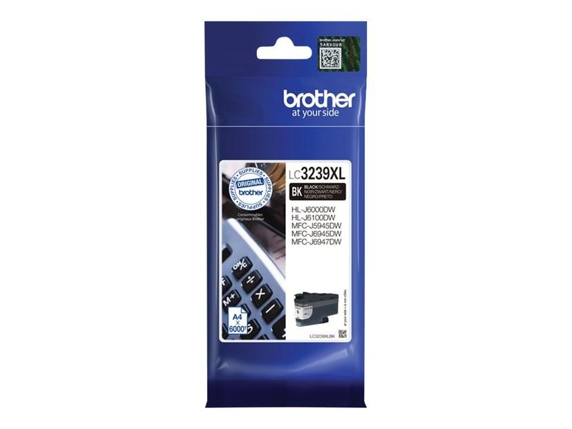 Brother Inkt Zwart LC-3239XLBK 6K