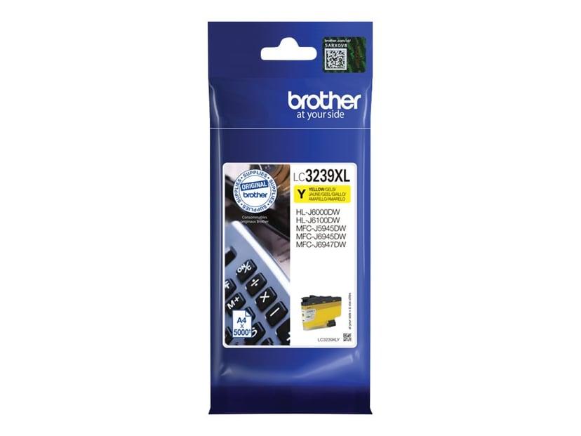 Brother Inkt Geel LC-3239XLY 5K