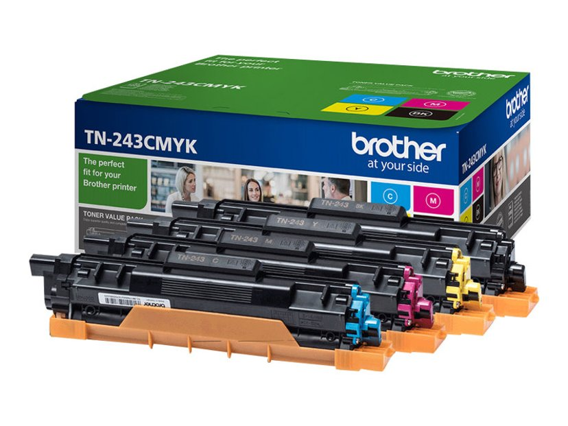 Brother Rainbow Kit TN-243CMYK 1K (BK/C/M/Y)
