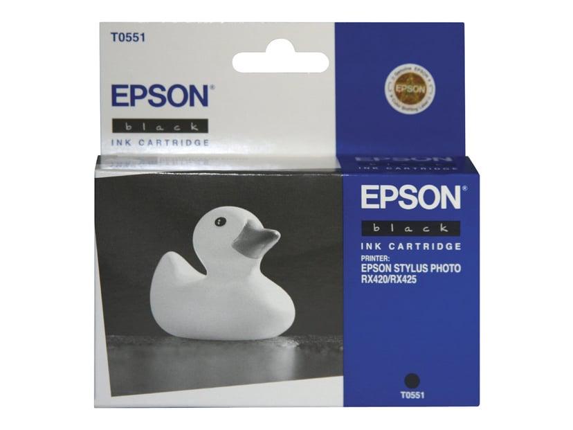 Epson Blæk Sort T0551 - RX420/425