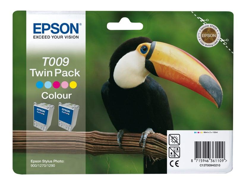 Epson Muste Väri T009 - STYLUS Kuva 1270 2-PACK