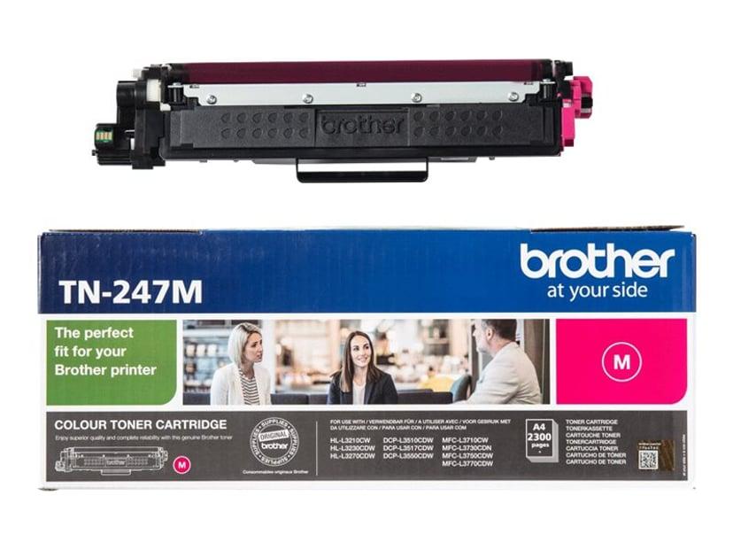 Brother Toner Magenta TN-247M 2.3K - HL-L3210