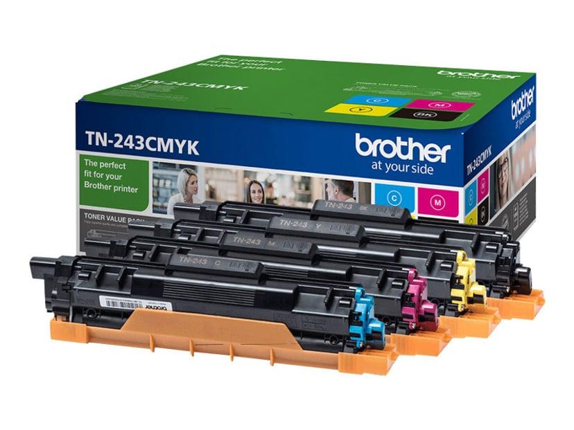Brother Rainbow Kit TN-243CMYK 1K (BK/C/M/Y)