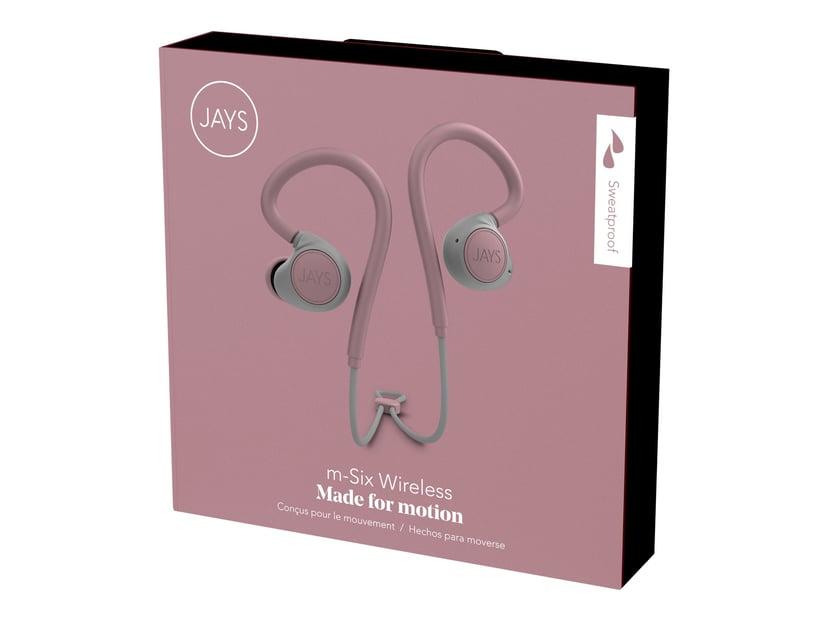 Jays m-Six Wireless Grå; Rosa
