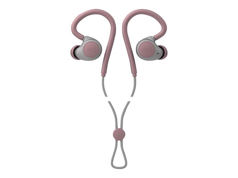 Jays m-Six Wireless Grijs; Roze