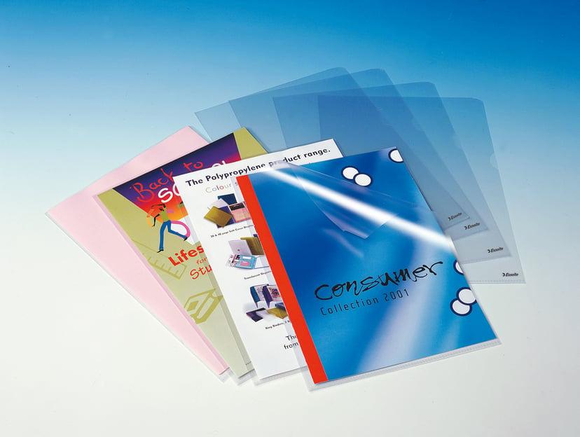 Esselte Plastmapp Copy-Safe A4 Klar 0,18 mm 100-Pack