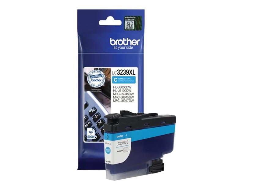 Brother Inkt Cyaan LC-3239XLC 5K