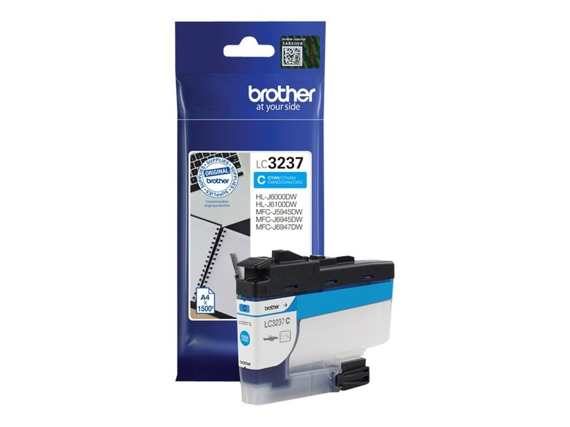 Brother Inkt Cyaan LC-3237C 1.5K