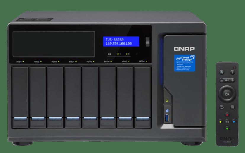 QNAP TVS-882BR 0TB NAS-server