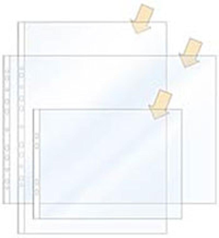 Esselte Plastficka Copysafe A5 0,08 mm 100 st/Fp