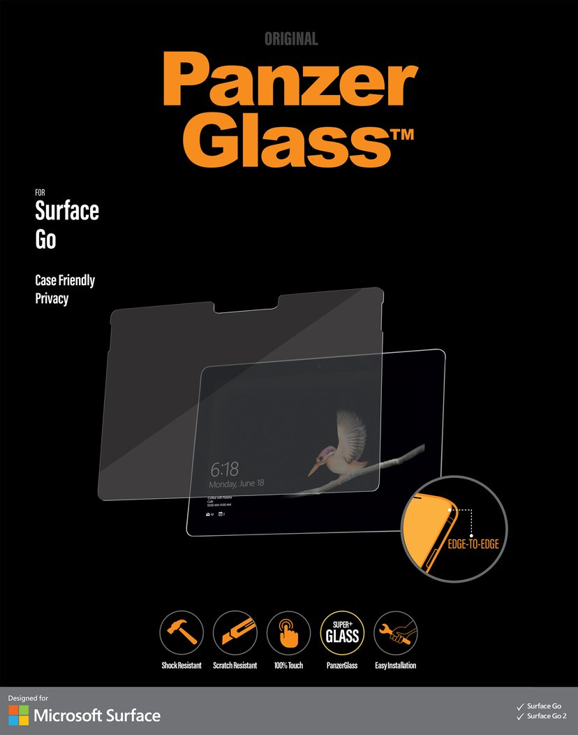 Panzerglass Privacy Microsoft Surface Go; Microsoft Surface Go 2