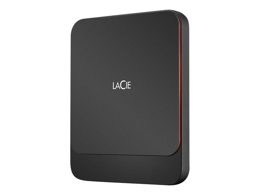 LaCie Portable SSD 0.5TB Svart