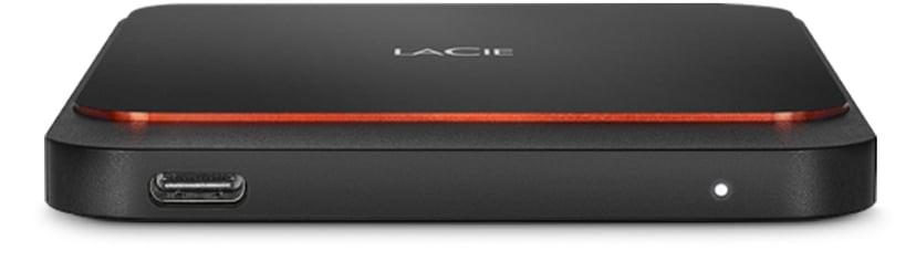 LaCie Portable SSD 1TB Svart
