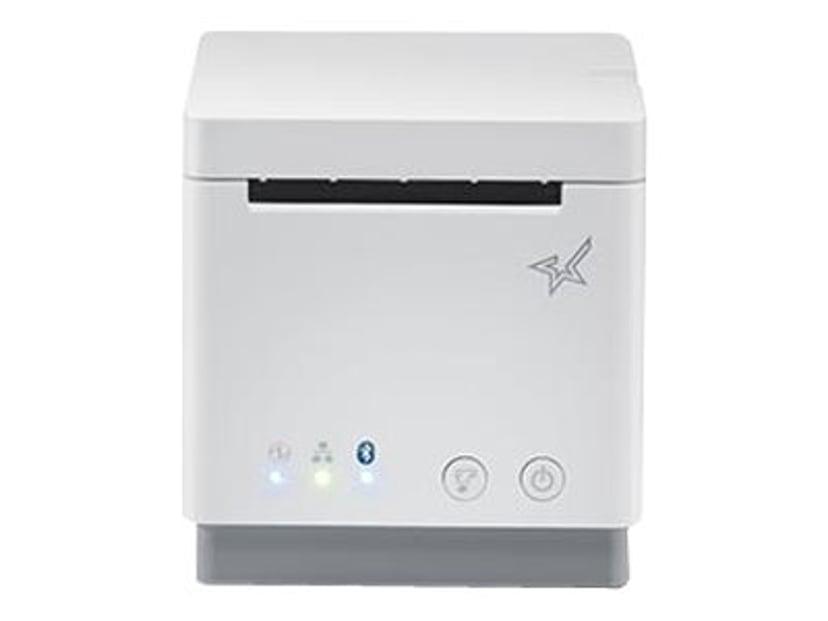 Star mC-Print2 USB/Bluetooth/IOS/Eth Sax Hvit Inkl Strømadapter