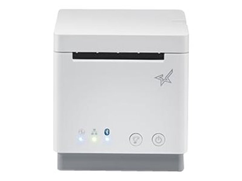 Star mC-Print2 USB/Bluetooth/IOS/Eth Sax Vit Inkl Stömadapter