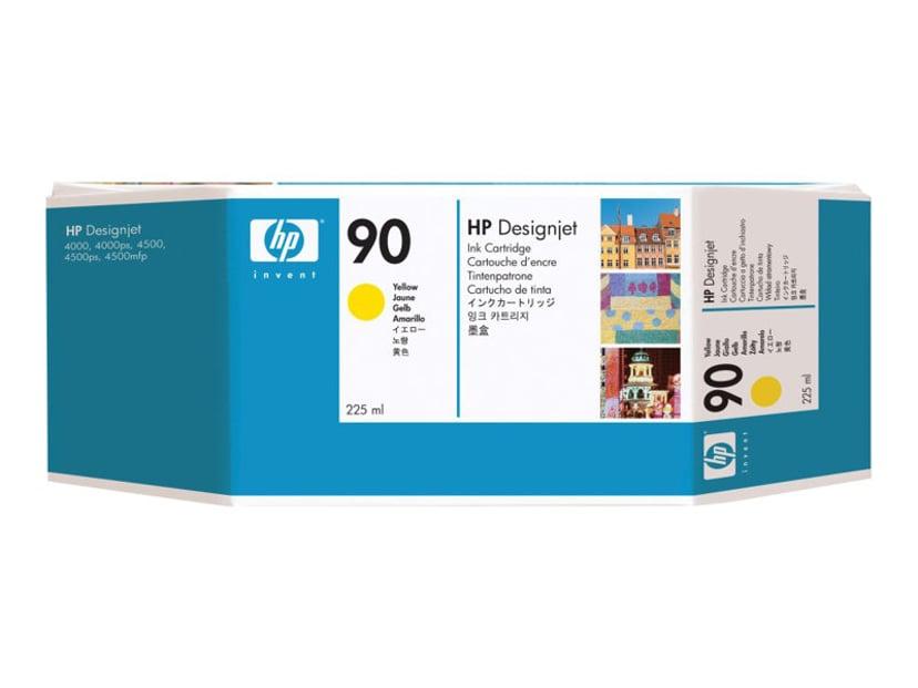 HP Muste Keltainen No.90 - DJ 4000 225 ML