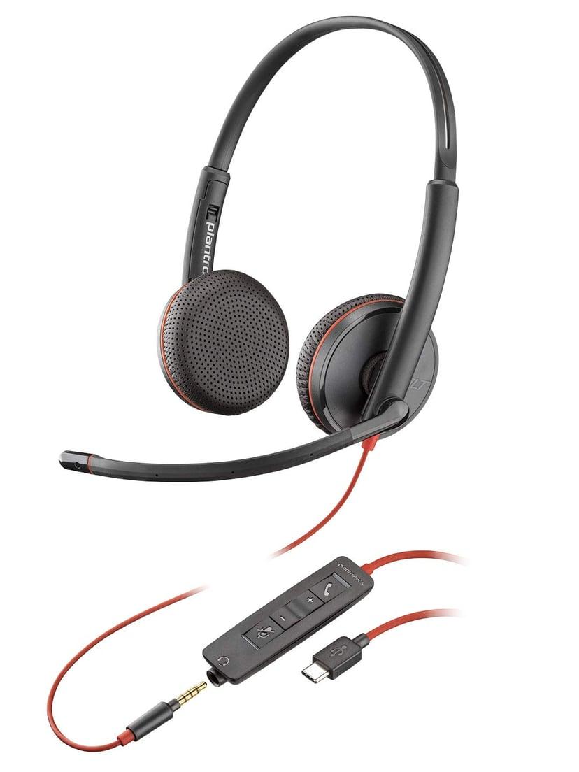 Poly Blackwire C3225 USB-C Svart