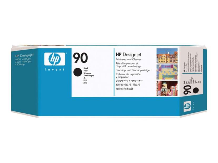HP Printhead/Cleaner No.90 Musta TO DJ 4000