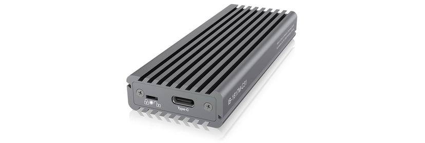 Raidsonic Icybox External Enclosure m.2 Nvme SSD USB-C USB 3.1 (Gen 2) Sølv