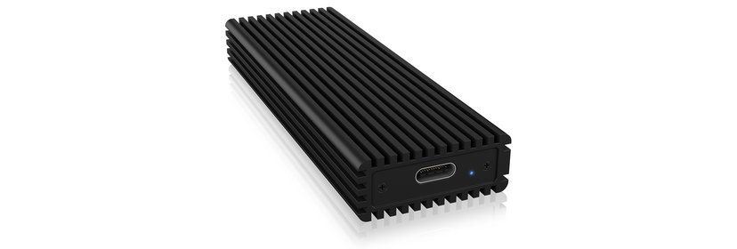 Raidsonic NVME-Kabinett USB 3.1 (Gen 2) Svart