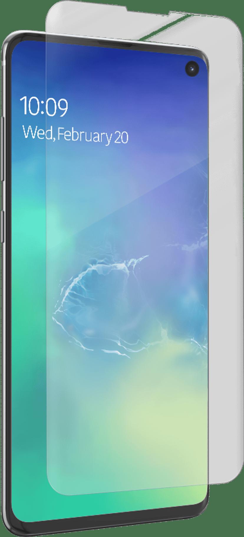 Zagg InvisibleShield ultra clear Case Friendly Samsung Galaxy S10