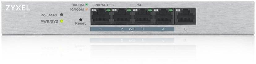 Zyxel GS1200-5HP v2 5-portars Smart PoE Switch