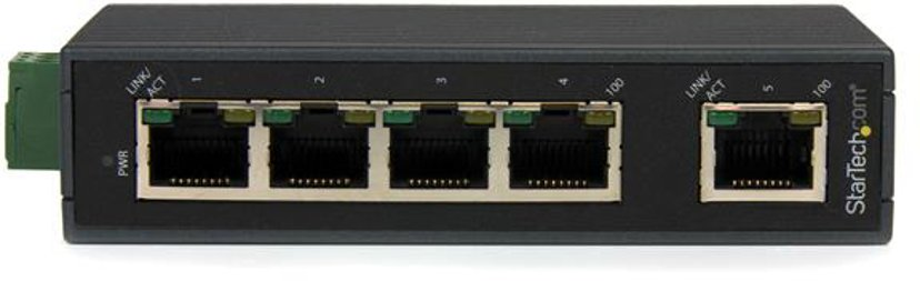 Startech Industriell Ethernet-switch med 5-portar
