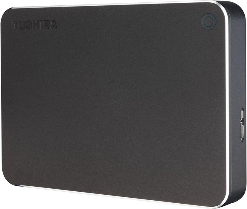 Toshiba Canvio Premium 4TB Grijs